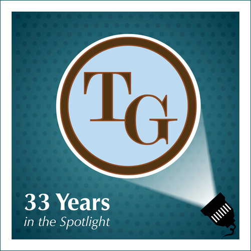 TG logo-Spotlight 33 Years